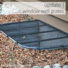 Window Well Grates | Before and After