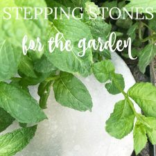 How to Make Cement Stepping Stones for the Garden