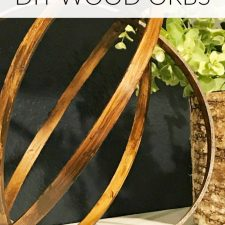 How to Make Wood Orbs