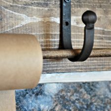 How to Make a Wall Mounted Paper Roll