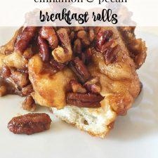 Rhodes Cinnamon Pecan Breakfast Rolls