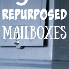5 Ways to Repurpose Mailboxes