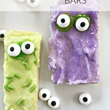 Monster Sugar Cookie Bars