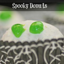 How to Make Halloween Donuts in Minutes