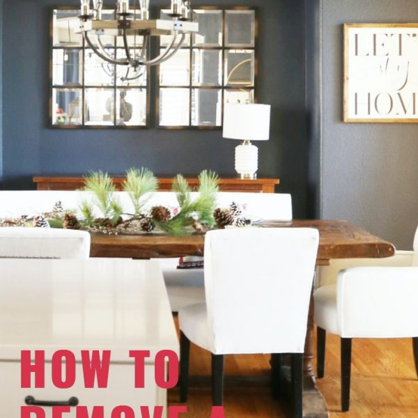 How to Remove a Half Wall Between the Dining and Kitchen Rooms