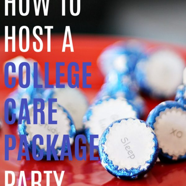 How to Host a College Care Package Party
