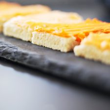 Fall in Love with these Ombre Frosted Sugar Cookie Bars