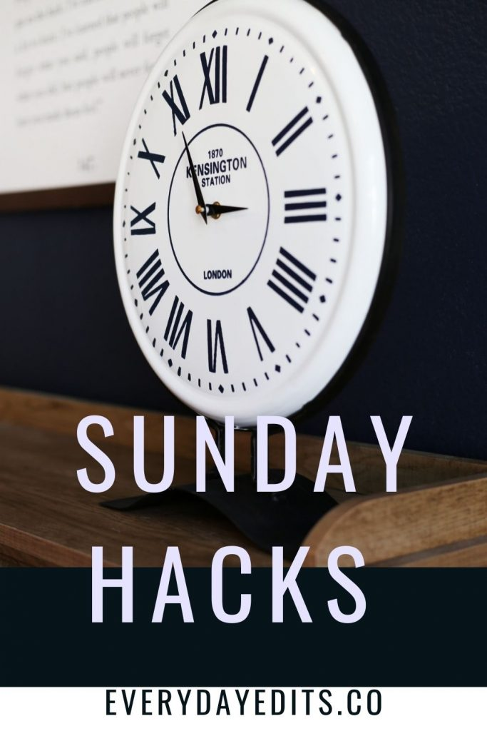 Sunday-hacks