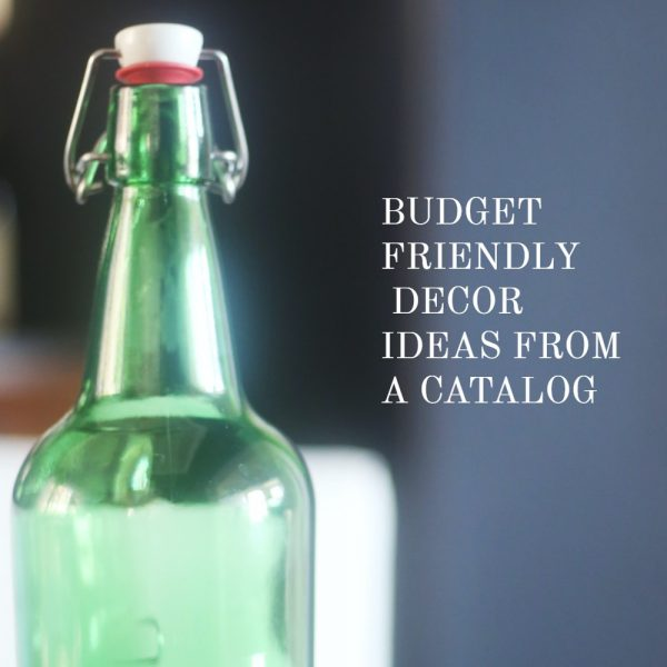 Budget-Friendly Ideas from a Catalog
