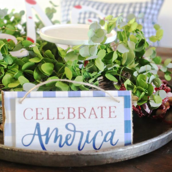 CHECK OUT THIS EASY PATRIOTIC TABLESCAPE