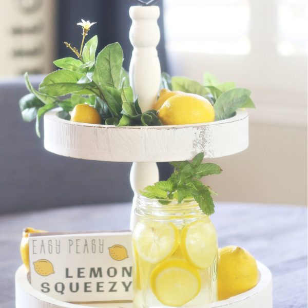 Lemon Centerpiece for the Kitchen