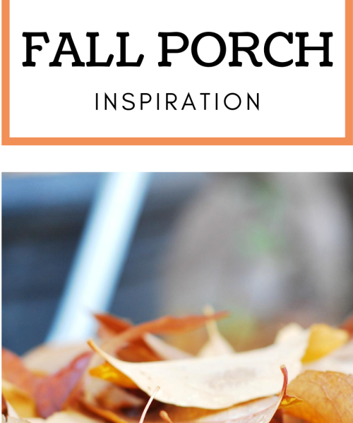 Fall Porch Inspiration The Weekend Edit