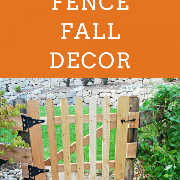 Picket Fence Fall Decor Inspiration