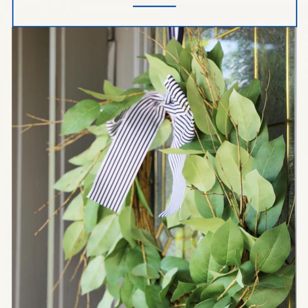 Simple Wreath to Centerpiece Hack
