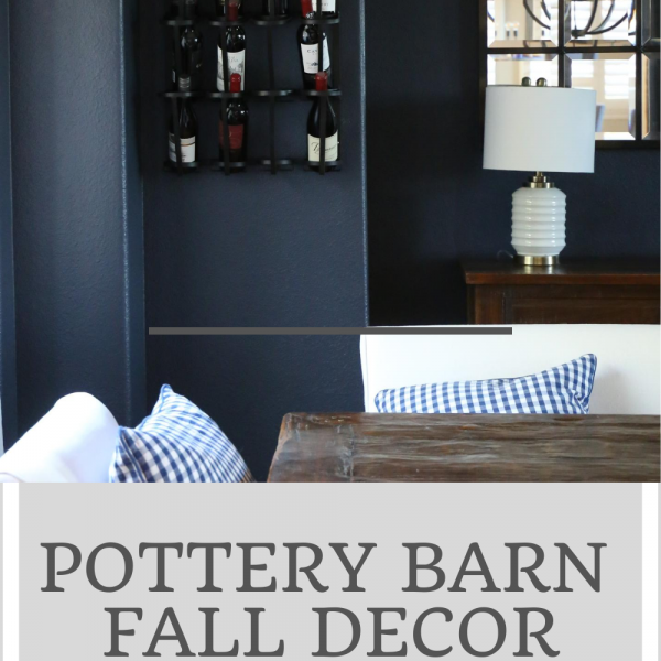 7 Pottery Barn Fall Decor Finds