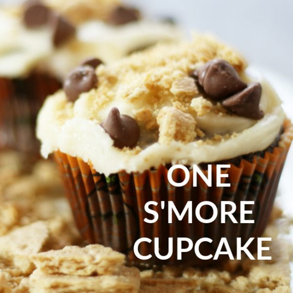 JUST ONE S'MORE CUPCAKE RECIPE