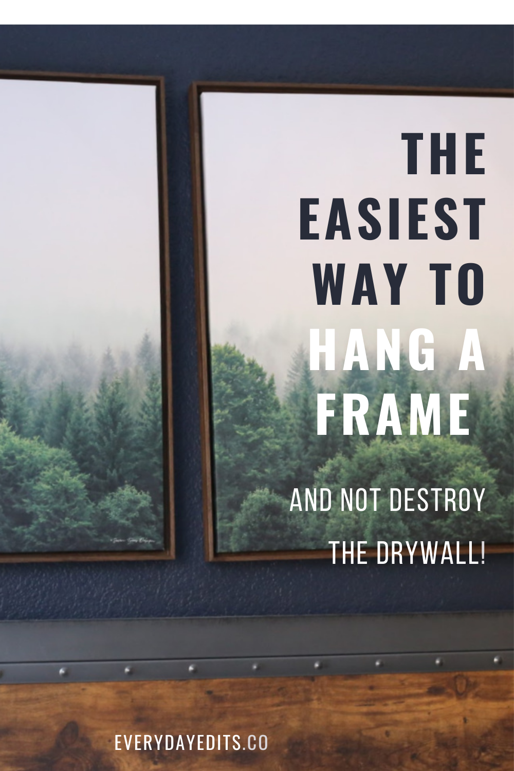 easiest-way-to-hang-frame