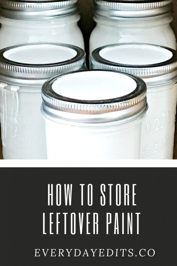 how-to-store-leftover-paint