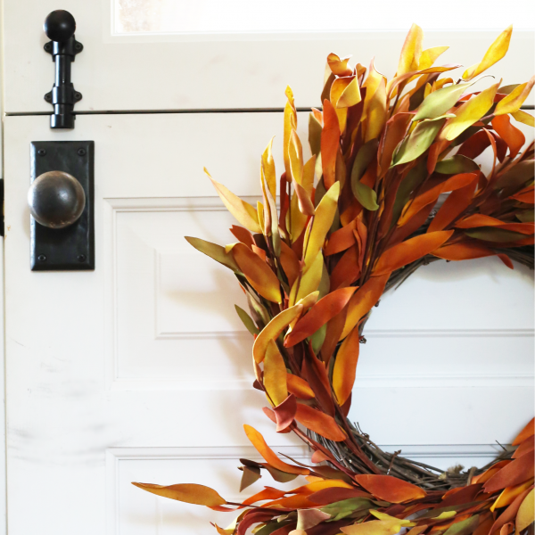 HOW TO UPDATE A WREATH IN A MINUTE
