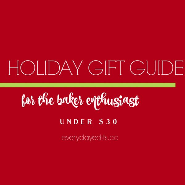 Holiday Gift Guide for Serving Dishes