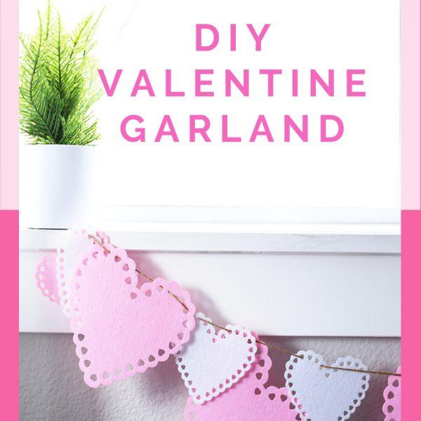 THE CUTEST VALENTINE'S DAY DIY GARLAND + VIDEO