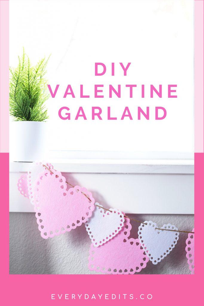 cutest- DIY- Valentine's-Day-garland
