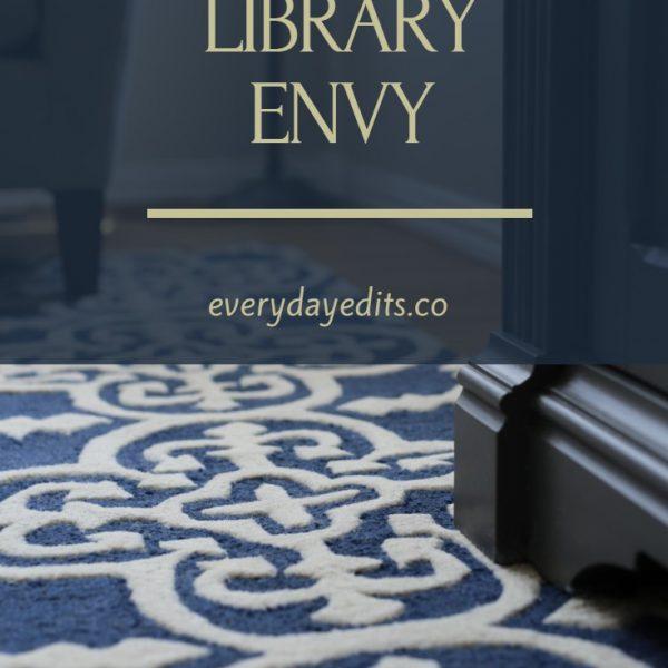 LIVING ROOM LIBRARY ENVY