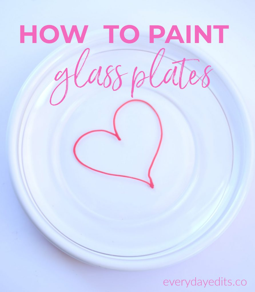 how-to-paint-glass-plates