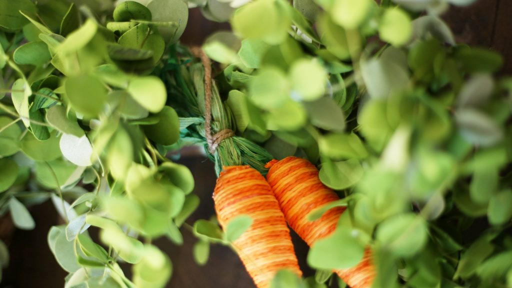 how-to-make-spring-carrot-wreath
