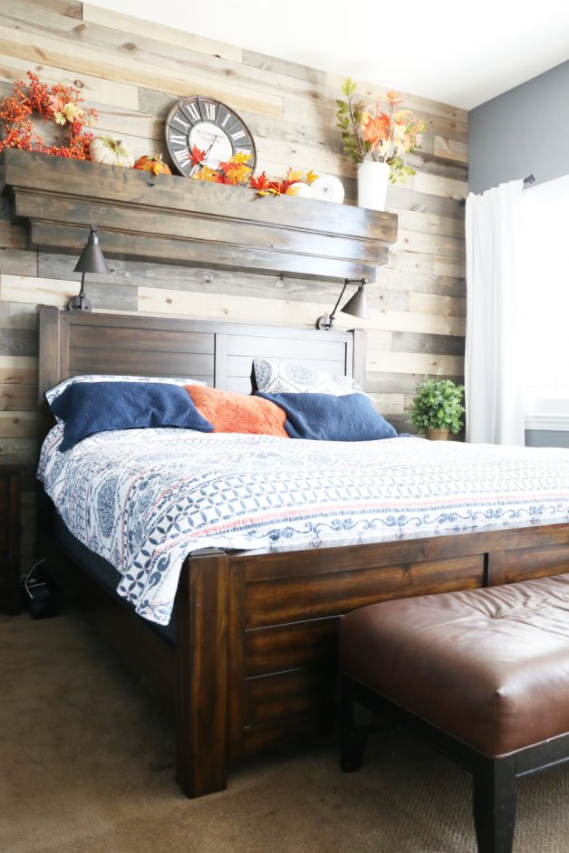 HOW TO ADD FALL DECOR FOR A BEDROOM
