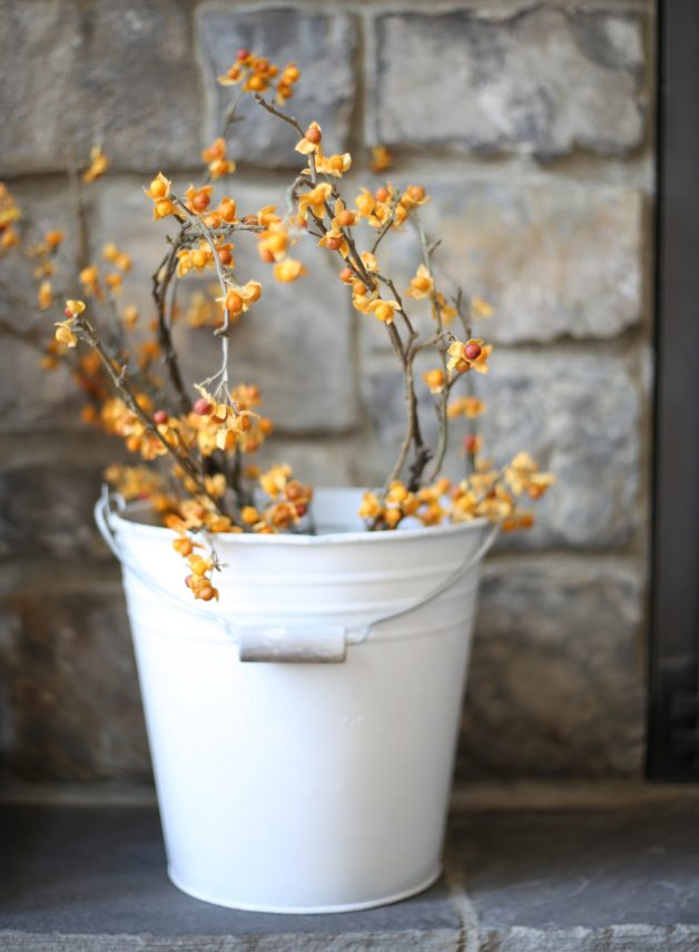 decorate with buckets