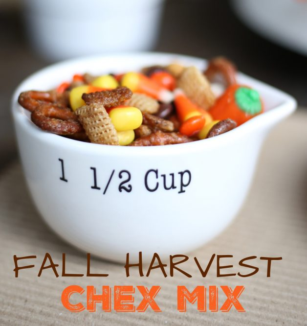 Fall Harvest Chex Mix