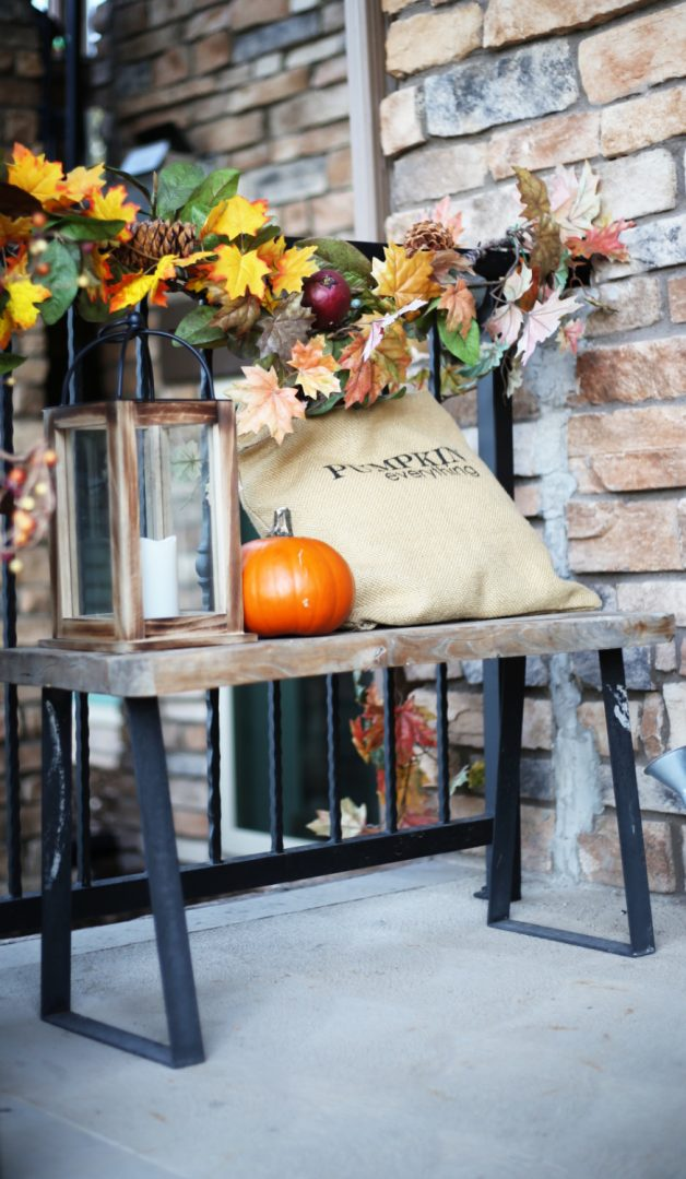 easy tips for a fall front porch, November porch