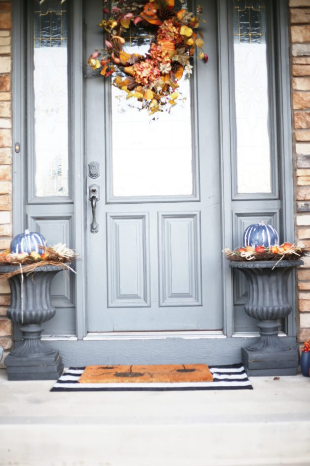 fall front porch, tips for fall porches