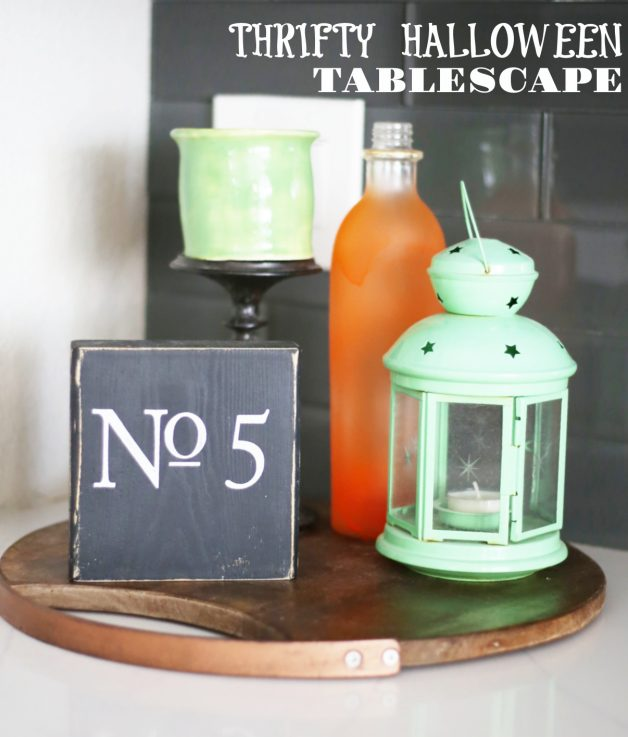 how-to create-Halloween-tablescape